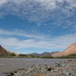 Fish River, on border between Namibia and South Africa