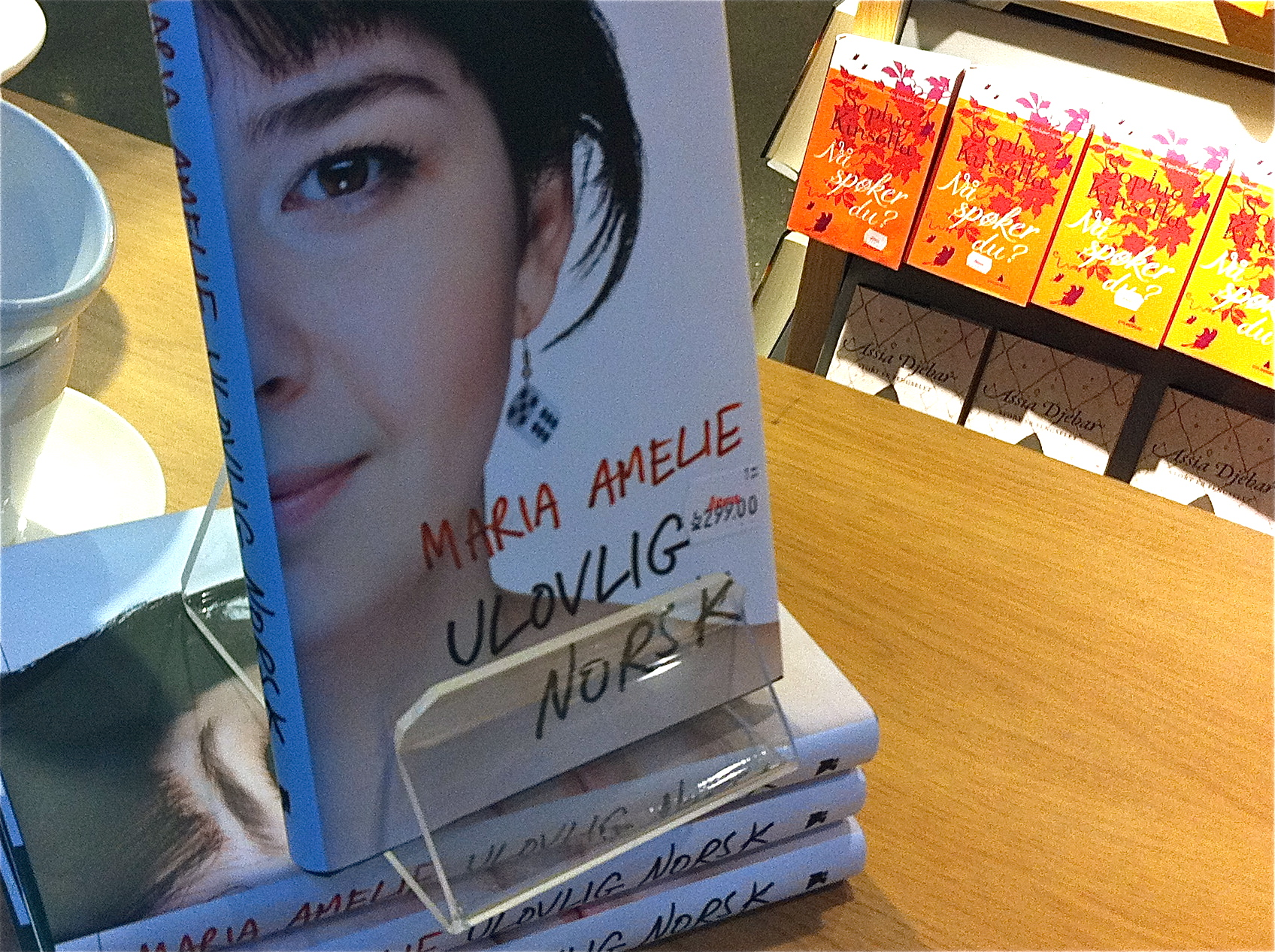 "Maria Amelie's book ""Illegally Norwegian"""