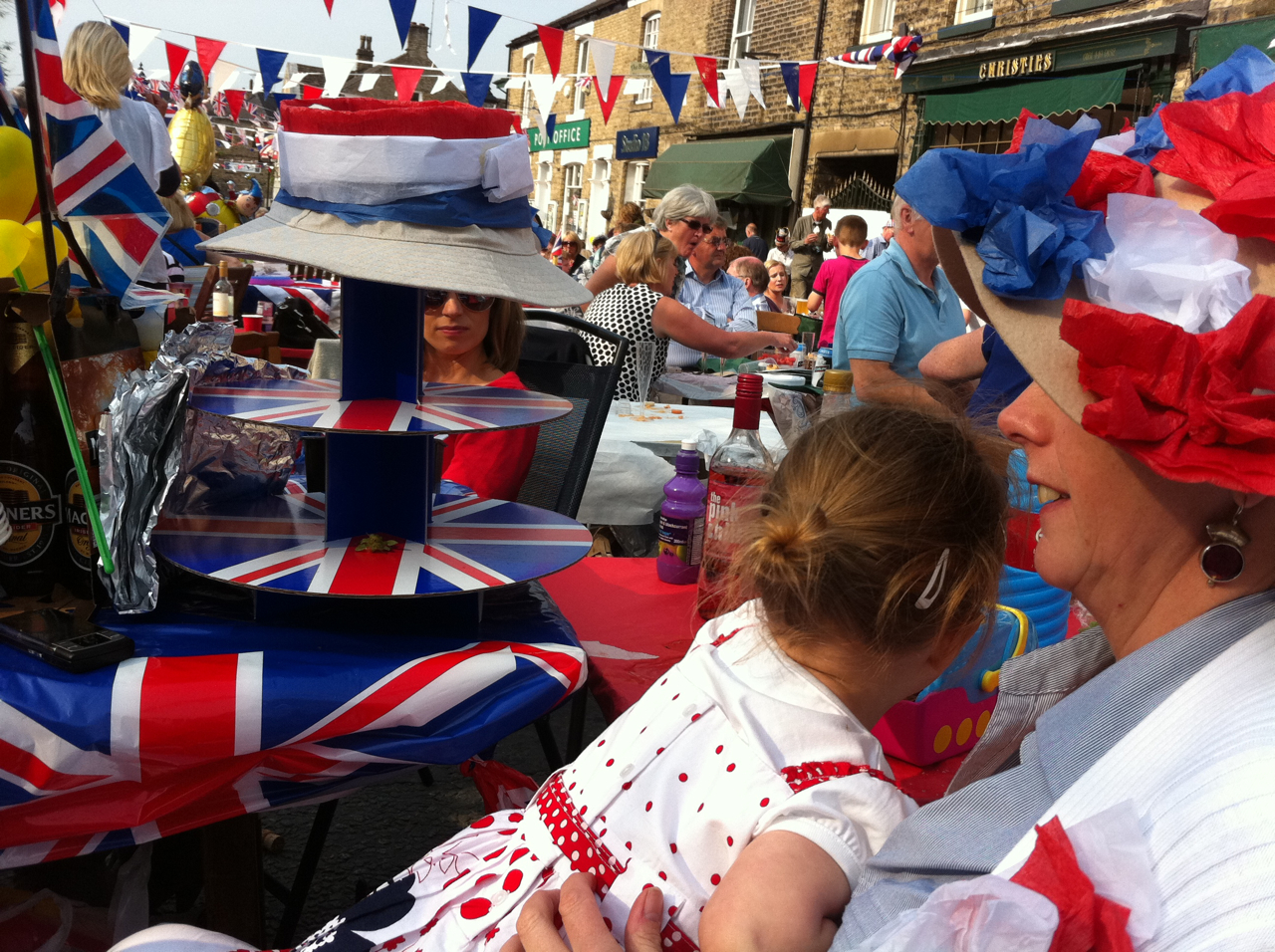 UK's largest street party, Marple Bridge