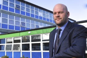 Head teacher Jonny Mitchell's school has thrived with exposure from TV documentary