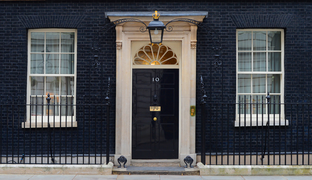 Revolving door: number 10 Downing Street